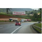 painéis rodoviários sem iluminação Santa Isabel