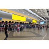 painel aeroportotuário Guarujá