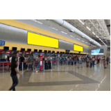 painel aeroportotuário Americana