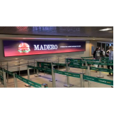 painel luminoso de led para propaganda Santos