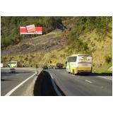 painel rodoviário com lona valores Taubaté