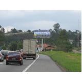 painel rodoviário publicidade Arujá