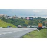 painel rodoviário sem iluminação Valinhos