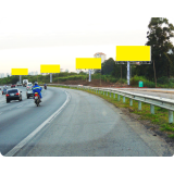 painel rodoviário Santa Isabel