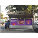 pontos ônibus de propaganda orçamento Araras