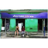 pontos ônibus para publicidade Santos