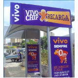quanto custa pontos de ônibus publicidade abrigo Franco da Rocha