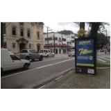quanto custa totem de rua de publicidade Santo André