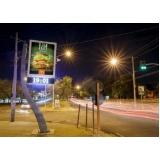 relógio de rua com propaganda preços Votuporanga