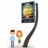 relógio de rua de propaganda preços Cajamar