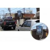 relógio de rua de propaganda Guarujá