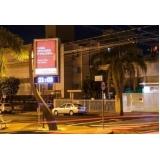 relógio de rua de publicidade Marília