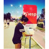 totem de rua para anúncio valores Lençóis Paulista