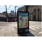 totem de rua para propaganda valores São Joaquim da Barra
