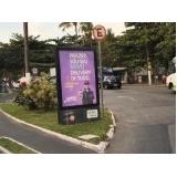 totem de rua para publicidade São Luis do Paraitinga