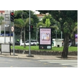 valor de totem de rua com publicidade Araras