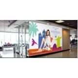 venda de mídia aeroportuária Praia Grande