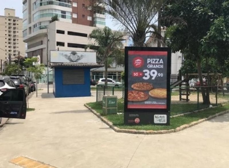 Totem de Rua com Publicidade Ferraz de Vasconcelos - Totem de Rua Digital Av Juracy de Salvador