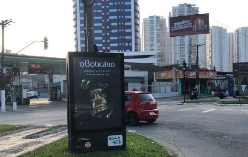 Totem de Rua de Propaganda Valores Vinhedo - Totem de Rua para Anúncio em Avenidas de Salvador
