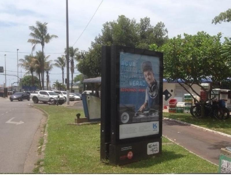 Totem de Rua Digital Valores Paraibuna - Totem de Rua Propaganda na Avenida Acm Salvador