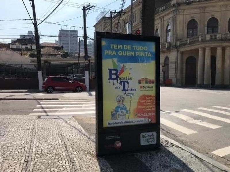 Totem de Rua para Propaganda Valores São Carlos - Totem de Rua para Propaganda Salvador