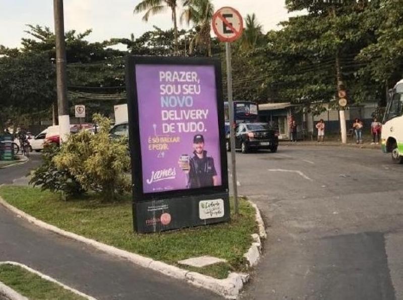 Totem de Rua para Publicidade Itapetininga - Totem de Rua Vertical em Salvador