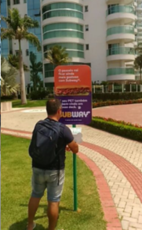 Totem de Rua Propaganda Valores Diadema - Totem de Rua para Anúncio em Avenidas de Salvador