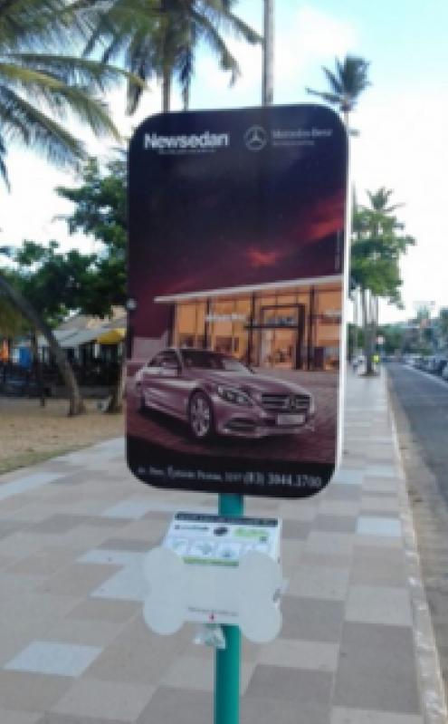 Totem de Rua Propaganda Pirassununga - Totem de Rua com Publicidade na Avenida Acm