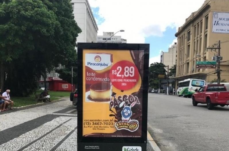 Totem de Rua Vertical São Caetano do Sul - Totem de Rua para Propaganda Salvador